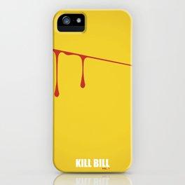 Kill Bill vol. 1 iPhone Case