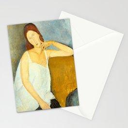 "Amedeo Modigliani ""Jeanne Hebuterne"" Stationery Cards"