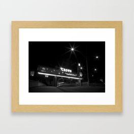 Welcome to sin. (Melbourne, 2011) Framed Art Print