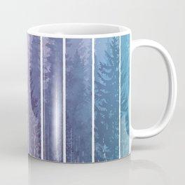 Grunge Dripping Rainbow Misty Forest Coffee Mug