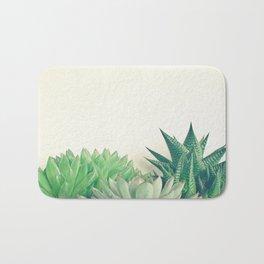 Succulent Forest Bath Mat