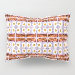 psicodic eggs and bacon Pillow Sham