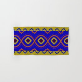 Ethnic African Knitted style design Hand & Bath Towel