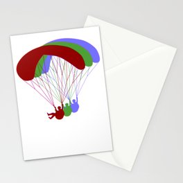 Paragliding RGB Offset Stationery Cards