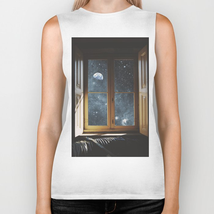 WINDOW TO THE UNIVERSE Biker Tank
