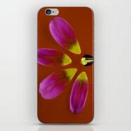 deconstructed tulip iPhone Skin