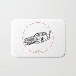 Crazy Car Art 0099 Bath Mat
