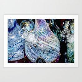 Vivid Colorful Glass Art Print