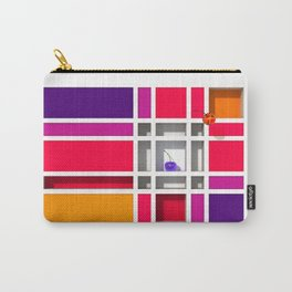 Abstract Glass Cherries 5 by THE-LEMON-WATCH Carry-All Pouch