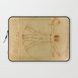 Leonardo da Vinci - Vitruvian Man Laptop Sleeve