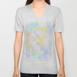 Re-Created Twisted SQ V by Robert S. Lee Unisex V-Neck