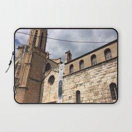 La Cathédrale de Saint Sauveur Laptop Sleeve