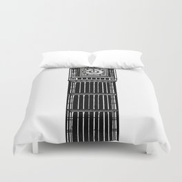 London Big Ben Duvet Cover
