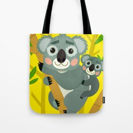 Koala Bears Tote Bag