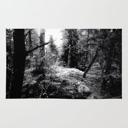 Fall Forest Morning Rug