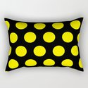 Yellow Circles on Black Background by kamelia_12