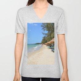 Otres Beach Sihanoukville Cambodia Unisex V-Neck