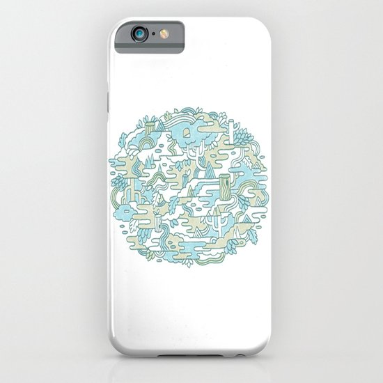 Foggy Woods iPhone & iPod Case