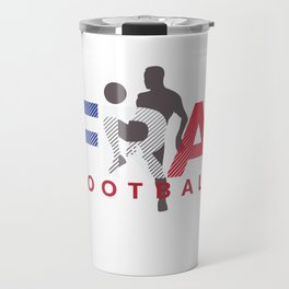 2018 Soccer Cup France Flag FRA Championship ISO Travel Mug