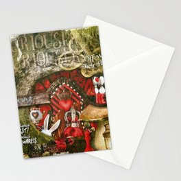 Queen of the Hearts Stationery Cards