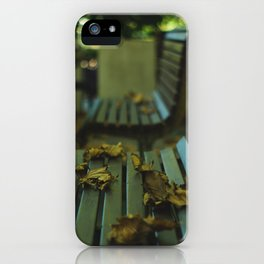 Winter's Left Over  iPhone Case