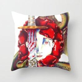 Sant Jordi Throw Pillow