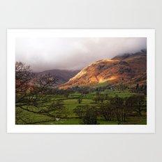 Morning Over Langdale Art Print