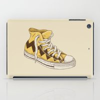 chuck iPad Cases featuring Chuck by Terry Fan
