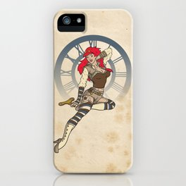 Clockwork Cutie iPhone Case