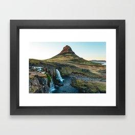 Kirkjufellsfoss, Iceland Framed Art Print