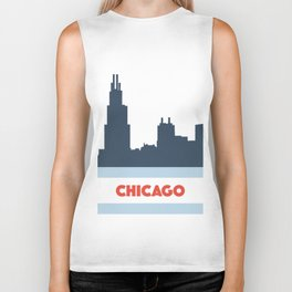 Windy City Wonder Biker Tank