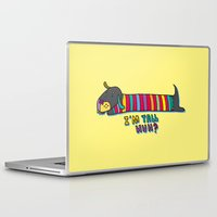 dachshund Laptop & iPad Skins featuring Dachshund by PINT GRAPHICS
