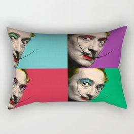Salvador Dali Rectangular Pillow