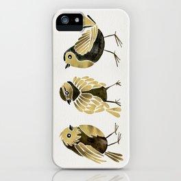 24-Karat Goldfinches iPhone Case
