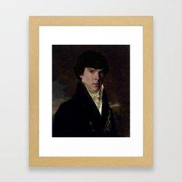 Prince Sherlock Framed Art Print