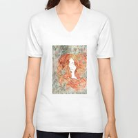 perfume V-neck T-shirts featuring Perfume #1 by Dao Linh