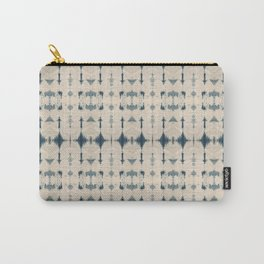 Shibori Soundwaves Carry-All Pouch