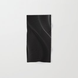 Minimal curves II Hand & Bath Towel