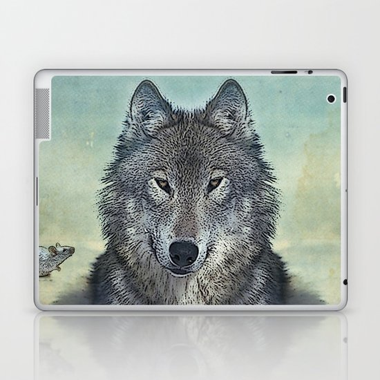 Scout and tiny Laptop & iPad Skin
