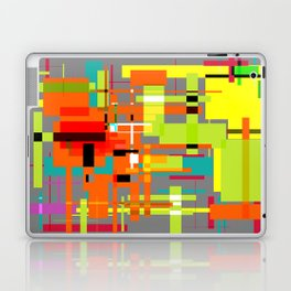 Lines and Sqaures Laptop & iPad Skin