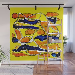 The Sun Also Rises. Society6. Watercolor. Abstract. Wall Mural