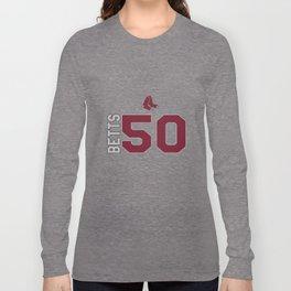 Boston Sox, Mookie Betts, Baseball MLB boston Long Sleeve T-shirt