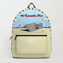 The Pyramids of Pisa Backpack