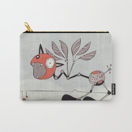 Shrieky Red Carry-All Pouch