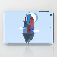 castle in the sky iPad Cases featuring Sky Castle by Becky Gibson