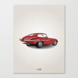 Jaguar E-Type Series 1 (1961-1968) Canvas Print
