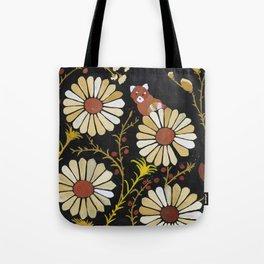 red panda daisies Tote Bag