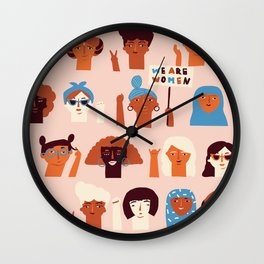 Women day Wall Clock