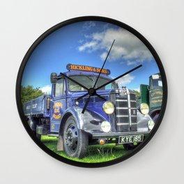 Bedford Dropside Tipper Wall Clock