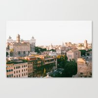 italy Canvas Prints featuring italy by paulina